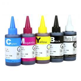[INK Refill Bottle SET – 500ml] for HP 564/564XL Photosmart C309a C309g C410a C310a C510a C309n D5445 D5460 C6340 C6380 C6350 7520 7515 7510 7525 D7560 B8550 C6383 C6388 C6480