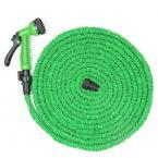AS SEEN ON TV - Expandable Magic Hose w/ 7 Function Spray Nozzle Gun Shut-Off Valve
