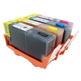 [Refillable Ink Cartridge SET] for HP HP920 HP920XL Office Jet 6000 6000A 6500 7000 7500 7500A printers