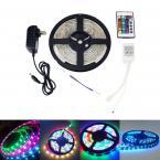 2 PACK Waterproof 10M LED SMD 3528 Rope Strip RGB with Remote