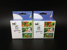 2 Pack Remanufactured Lexmark 2 (18C0190) Color Ink Cartridge #2 LM2 XL