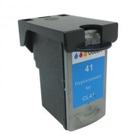 1 Pack CANON CL41 Remanufactured Cartridge,Works with ALL CANON printers that use CL41 ink cartridge