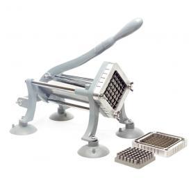 "WYZworks - Commercial Heavy Duty French Fry Cutter with 3/8 inch Cutting Frame and Free 1/2"" Cutting Frame"