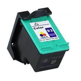 1 Pack HP93 ( HP 93 ) Tri-Color C9361W Remanufactured Cartridge,Works with ALL HP printers that use 93 ink cartridge