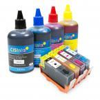 [Refillable Ink Cartridge KIT] for HP 934/935 XL Officejet Pro 6230 6830 6835 Officejet 6812 6815 6820
