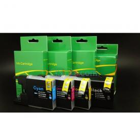 [Compatible Ink Cartridge 4pk] for Brother LC75 Cartridge MFC-J280W MFC-J425W MFC-J430W MFC-J435W MFC-J5910DW MFC-J625DW MFC-J6510DW MFC-J6710DW MFC-J6910DW MFC-J825DW MFC-J835DW