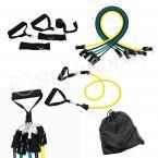 11pcs Resistance Band Workout Set Exercise Tubes Gym Fitness Yoga Workout