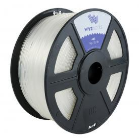 WyzWorks 3D Printer Filament ABS 1.75mm ( Clear ) 1kg/2.2lb