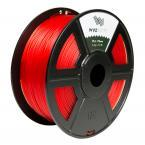 WyzWorks 3D Printer Filament PLA 3.0mm ( Translucent Red ) 1kg/2.2lb